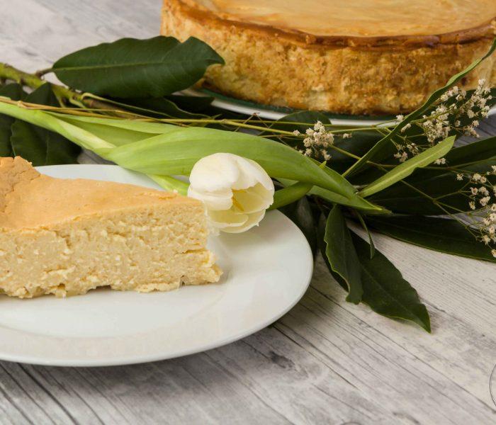 Apfelmus-Quark-Kuchen